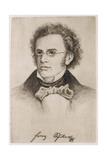 Franz Schubert Giclee Print