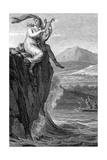 Odysseus and Sirens Giclée-Druck