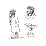 Beethoven (Lyser) Giclee Print