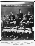Manchester United Football Team, 1905-6 Season Fotografie-Druck