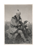 Daniel Boone Giclée-vedos tekijänä Alonzo Chappel