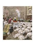 New Priests at Rome Gicléetryck av Achille Beltrame