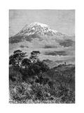Tanzania, Kilimanjaro Giclée-tryk