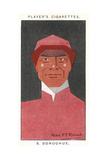 Steve Donoghue - English Flat-Race Jockey Giclee Print by Alick P.f. Ritchie
