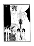The Eyes of Herod Giclee Print by Aubrey Beardsley