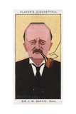 J M Barrie - Scottish Author and Dramatist Giclee Print by Alick P.f. Ritchie
