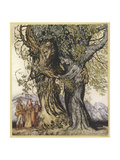 Philemon and Baucis Reproduction procédé giclée par Arthur Rackham