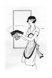 Housewife with Soup 1930 Giclee Print by Anne Rochester