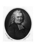 Johann Spalding Giclée-tryk af Anton Graff