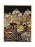 Dick Whittington Lámina giclée por Arthur Rackham