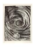 A Descent into Maelstrom Giclée-Druck von Arthur Rackham