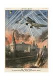 Stukas Bomb Moscow Gicléetryck av Achille Beltrame