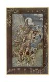 Midsummer Night's Dream Giclee Print by Arthur Rackham