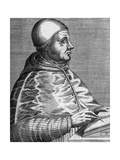 Pius II, Pope (1405-1464) Giclee Print by Andre Thevet