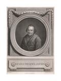 Moses Mendelssohn, Graff Giclée-tryk af Anton Graff