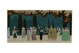 Egyptian Style 1914 Giclee-trykk av Charles Martin