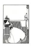 Wrapper of Catalogue of Rare Books Lámina giclée por Aubrey Beardsley