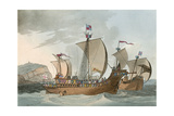 Medieval Shipping Giclee Print by Charles Hamilton Smith