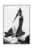 St Rose of Lima Lámina giclée por Aubrey Beardsley
