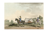 Horse Litter Giclee Print by Charles Hamilton Smith