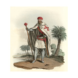 A Knight Templar Giclee Print by Charles Hamilton Smith