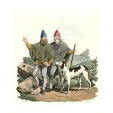 Ancient Irish Judges Giclee Print by Charles Hamilton Smith