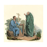 Bard and Ovate Giclee Print by Charles Hamilton Smith