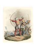 English Archers Giclee Print by Charles Hamilton Smith