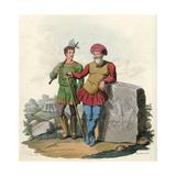 King Gorm of Denmark Giclee Print by Charles Hamilton Smith