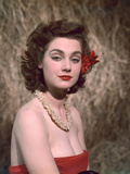 Hibiscus Girl 1950s Photographic Print by Charles Woof