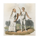 Scandinavian Druids Giclee Print by Charles Hamilton Smith