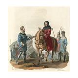 King Richard II as a Prisoner Giclee Print by Charles Hamilton Smith