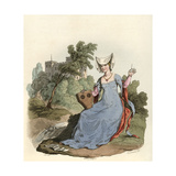 Lady of 1420 Giclee Print by Charles Hamilton Smith