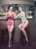 Cocktail Girls 1950s Reproduction photographique par Charles Woof