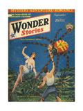 'Spider Island' Giclee Print by Frank R Paul