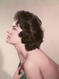 Girl with Towel, Profile Photographic Print by Charles Woof