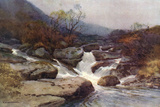 Dartmoor Stream Photographic Print by Ernest W Haslehust