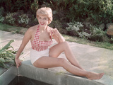 Blonde by Pond 1950s Reproduction photographique par Charles Woof