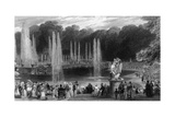 Versailles Fountains Giclee Print by Eugene Lami