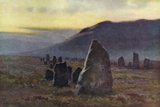 Merrivale Stone Avenue Photographic Print by Ernest W Haslehust