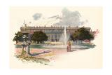 Hampton Court C1895 Giclee Print by Charles Wilkinson