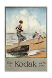 Kodak Lámina giclée por Claude A Shepperson