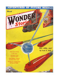 Wonder Stories, 3, 1932 Giclee Print by Frank R Paul