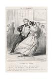 Exhausted by the Polka Giclée-Druck von Charles Vernier