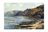 Yorkshire Coast Giclee Print by Ernest W Haslehust