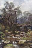 Dartmoor - Ockery Bridge Photographic Print by Ernest W Haslehust