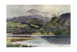Coniston Lake Giclee Print by Ernest W Haslehust