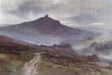 Dartmoor - Brent Tor Photographic Print by Ernest W Haslehust