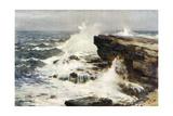 Yorkshire Coastal Scene Giclee Print by Ernest W Haslehust
