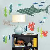 Bart the Shark Wall Art Kit Adesivo de parede